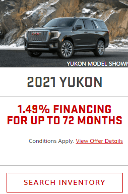 2021 GMC Yukon Specials Offers Incentives Jack Carter Northstar GM Cranbrook BC