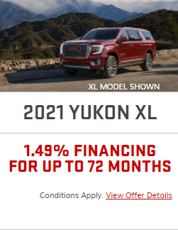 2021 GMC Yukon XL Specials Offers Incentives Jack Carter Northstar GM Cranbrook BC