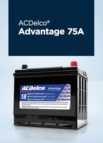 ACDelco Battery ADVANTAGE 75A Jack Carter Northstar GM Cranbrook BC