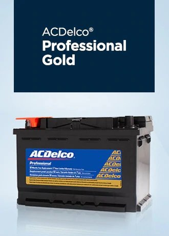ACDelco Battery Proferssional Gold Jack Carter Northstar GM Cranbrook BC